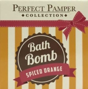 Three Packs Of Perfect Pamper Collection Bath Bomb Spiced Orange 150g. Shipping