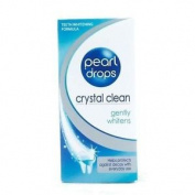 Three Packs Of Pearl Drops Crystal Clean Gently Whitens 50ml