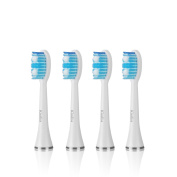 Kissliss Electric Toothbrush Replacement Heads - White
