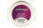 Nail Magic Acrylic Powder 30g-dramatic White