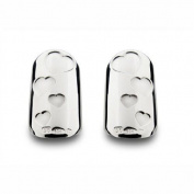 Bohem Silver Jewellery Nail Art Gypsy Flutter Small - Pair