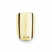 Bohem Gold Jewellery Nail Art Classic Edge Short, Large