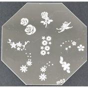 Nail Art Stamping Plate - M02 Code