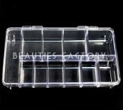 Bf 1pc Empty Storage Case (11 Compartments) #363c