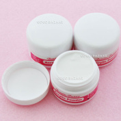 3pcs New Crystal Acrylic Powder For Nail Art Builder Manicure Clear Colour #152