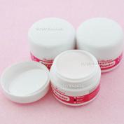 3 Pink Crystal Shine Nail Acrylic Powder Builder False Nail Art Manicure #153