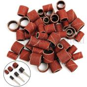 150cm x 1.3cm 0.6cm 1cm Sanding Bands Manicure Pedicure + 3 Mandrels For Nail Drill