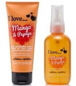 I Love... Mango & Papaya Body Spritzer 100ml & Hand Lotion 75ml Duo. Shipping In