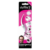 Stylfile 2 Emergency Nail File 4 In 1 Repair Kit Travel Cuticle Manicure Skimmer