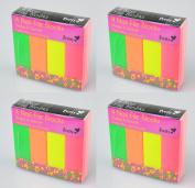 Neon Nail File Blocks Manicure Pedicure Emery Buffer Sanding Beauty Nails