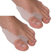 Boolavard 2 X Gel Bunion Protectors, Toe Separators, Straighteners