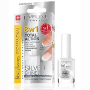 Eveline Silver Shine Intensive Nail Conditioner 8-in-1 Total Action 12ml