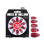House Of Holland False Nails - Perfectly Plaid