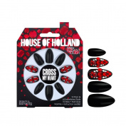 House Of Holland False Nails - Cross My Heart