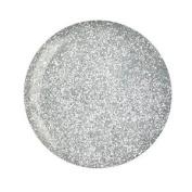 Cuccio Powder Polish Dip System Dipping Powder - Platinum Silver Glitter 45g (55
