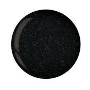 Cuccio Powder Polish Dip System Dipping Powder - Black Glitter 45g