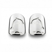 Bohem Silver Jewellery Nail Art Gypsy Dolphin Medium - Pair