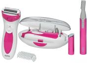 B#aeg Three Piece Hair Trimmer Manicure/pedic