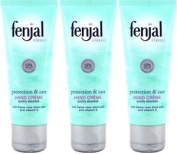 Three Packs Of Fenjal Classic Hand Creme 50ml