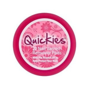 Quickies Nail Varnish Remover Travel Pot X 20