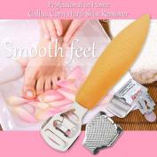 Free 10 Blades Callus Remover Corn Hard Dead Skin Shaver Rasp Foot Pedicure Uk