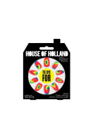 House Of Holland False Nails - Tie Dye For Hippy Trip Nails