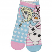 Frozen Girls' Crew Socks 2 Pack