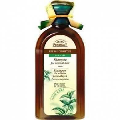 Green Pharmacy Nettle Shampoo For Normal Hair – 0% Parabens, Artificial Sls & –