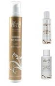 Abi O 200ml Shimmer Glistening Gold Tan Boost + 50ml Body Wash Exfoliating Scrub
