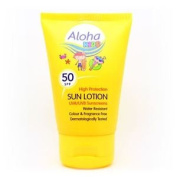 Aloha Pocket Sized Spf 50 Kids Sun Lotion 50ml
