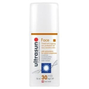 Ultrasun Face Tinted Anti-ageing Sun Protection For Sensitve Skin Spf 30 50ml