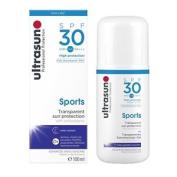 Ultrasun Spf30 Transparent Sports Gel 100ml