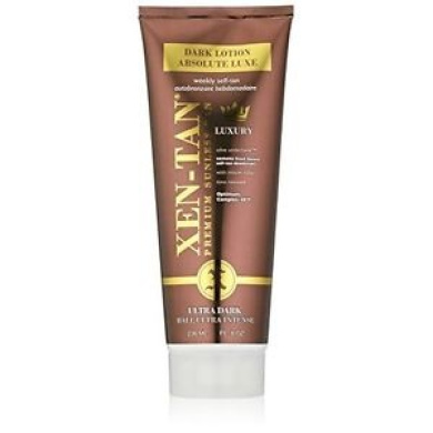 Xen-tan Dark Lotion Absolute Luxe – Premium Sunless Tan With Scent Secure - 236m
