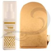Skinny Tan & Tone Oil Vegan Friendly Fake Tan Self Tanning Oil & Mitt