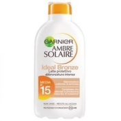 Ambre Solaire Ideal Bronze Sun Milk Spf 15 Low Protection 200 Ml.