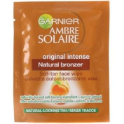 Ambre Solaire - No Streaks Bronzer By Garnier Self-tan Face Wipe One Singular