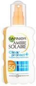 Ambre Solaire Clear Protect Sun Cream Spray Spf50 200ml