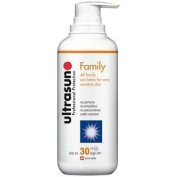 Ultrasun Spf30 Family Formula 400ml | True Once A Day | Free Express P & p