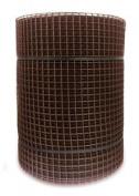 Netlon Plastic Netting 40m X 0.5m X 15mm - Brown