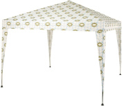 Olive And Orange By Orla Kiely Outdoor Garden Picnic Camping Waterproof Gazebo