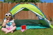 Children's Uv Protected Beach Tent – Pop Up - Complete With Carry Bag And