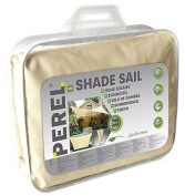 Perel 3.6 X 3.6 M Square Shade Sail - Cream