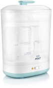 Baby Wide Bottles 2-in-1 Electric Steam Steriliser Philips Avent Natural Cleaner