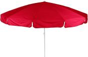 Beo 141031 Dralon Parasol, Diameter 240 Cm, Red