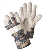 Briers Ladies Flower Girl Rigger Gloves Gardening Outdoors Floral Medium