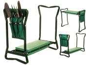 2 In 1 Garden Kneeler Seat Folding Portable Foam Gardening Knee Padded Stool