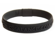 Genuine Core Series Ionic Balance Band Black, Large - 20.5cm / 8.1in
