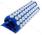Acupressure Massage Meditation Mat Stress Pain Relief Soft Seat Cushion Blue