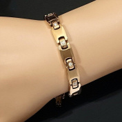 Magnetic Tungsten Arthritis Muscular Cts Rsi Relief 24k Rose Gold Fill Bracelet