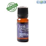 Basil (linalool) Organic Essential Oil - 100% Pure - 10ml